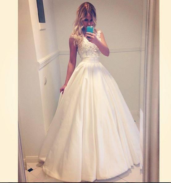 Холостяк 2 алена в свадебной платье