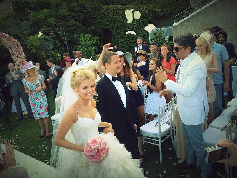 Эрнест рудяк и мария ивакова свадьба фото