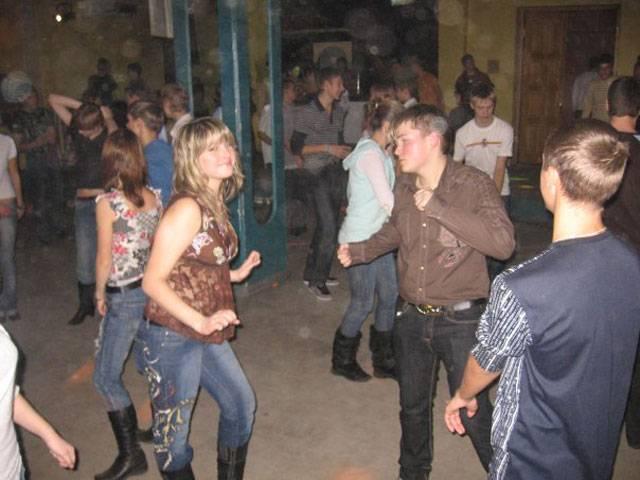 Секс в деревни на дискотеки