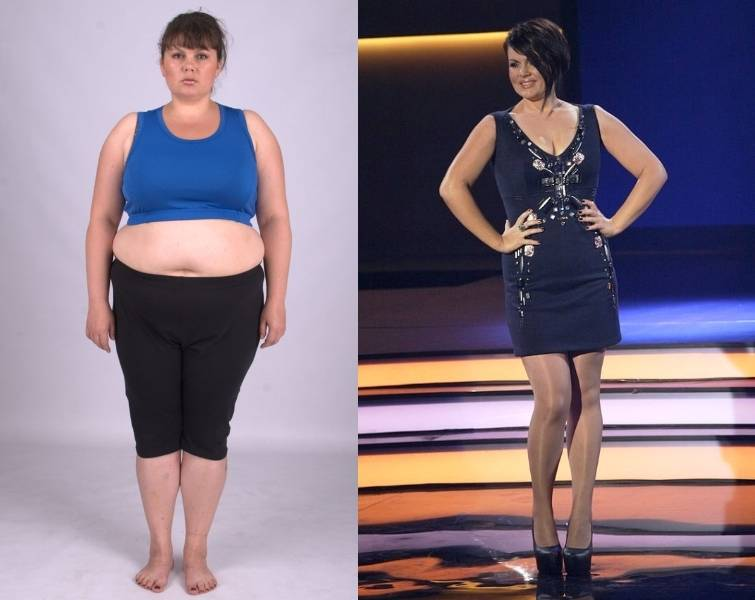 Ева Зволинская взвешенные люди ) - фото до и после